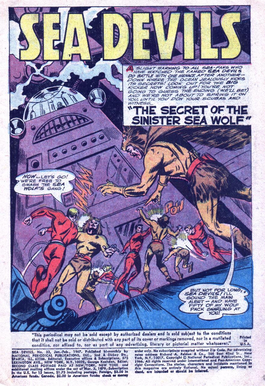 Read online Sea Devils comic -  Issue #33 - 4