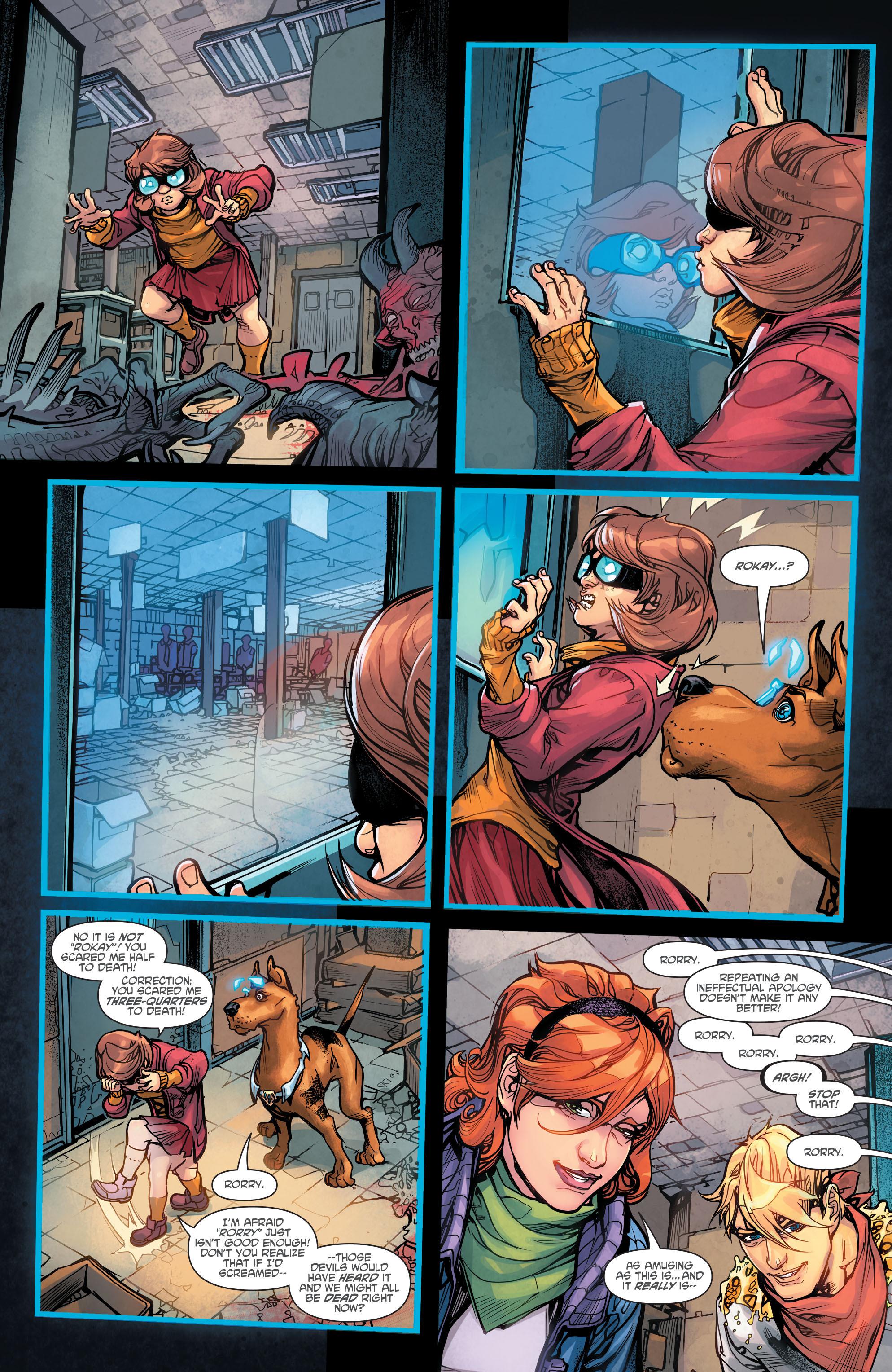 Read online Scooby Apocalypse comic -  Issue #5 - 21