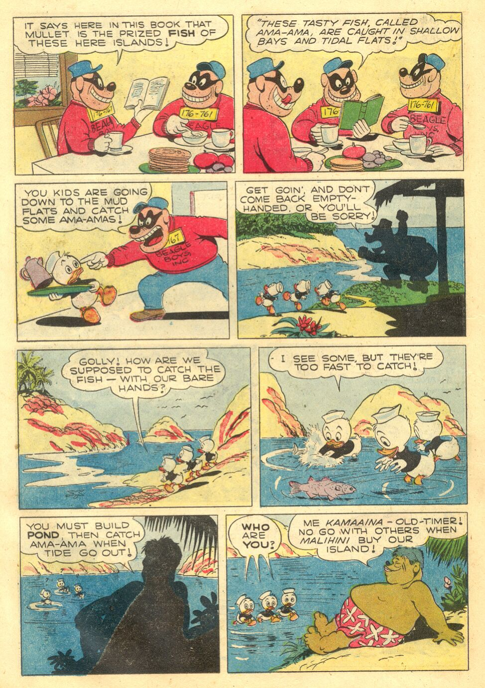 Uncle Scrooge (1953) Issue #4 #4 - English 22
