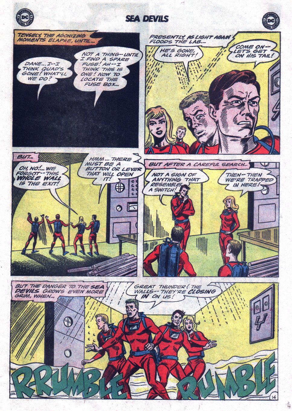 Read online Sea Devils comic -  Issue #21 - 21