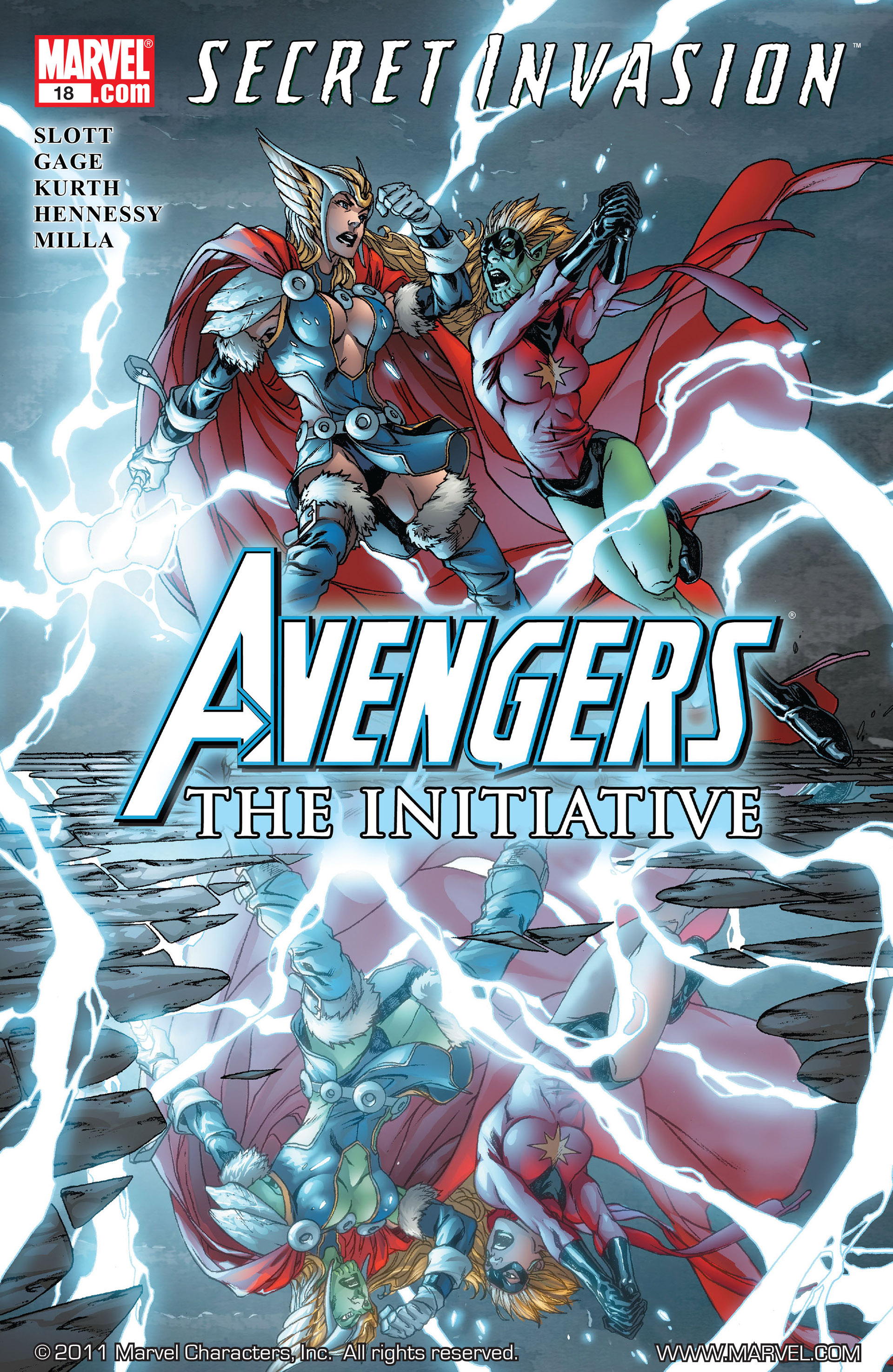 Avengers: The Initiative 18 Page 1