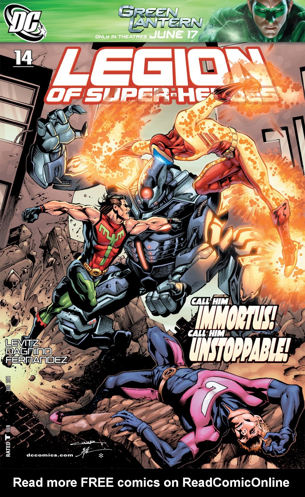 Legion of Super-Heroes (2010) Issue #14 #15 - English 1