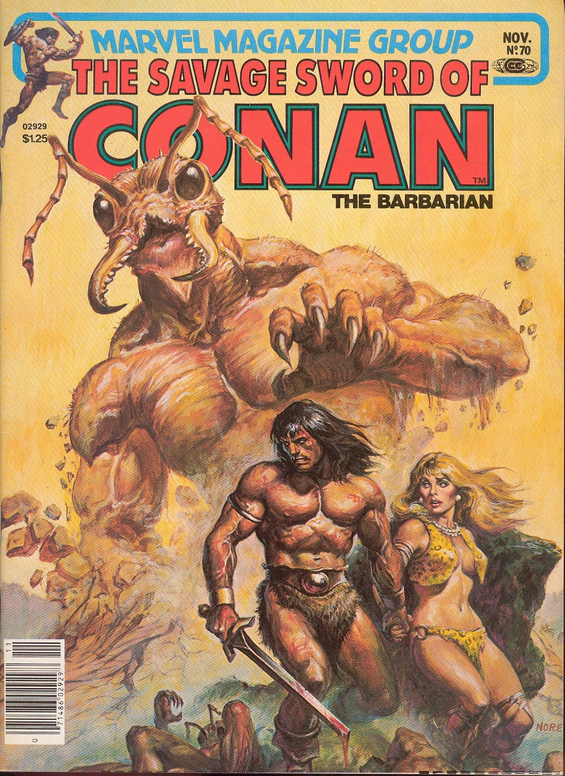 The Savage Sword Of Conan Issue #70 #71 - English 1