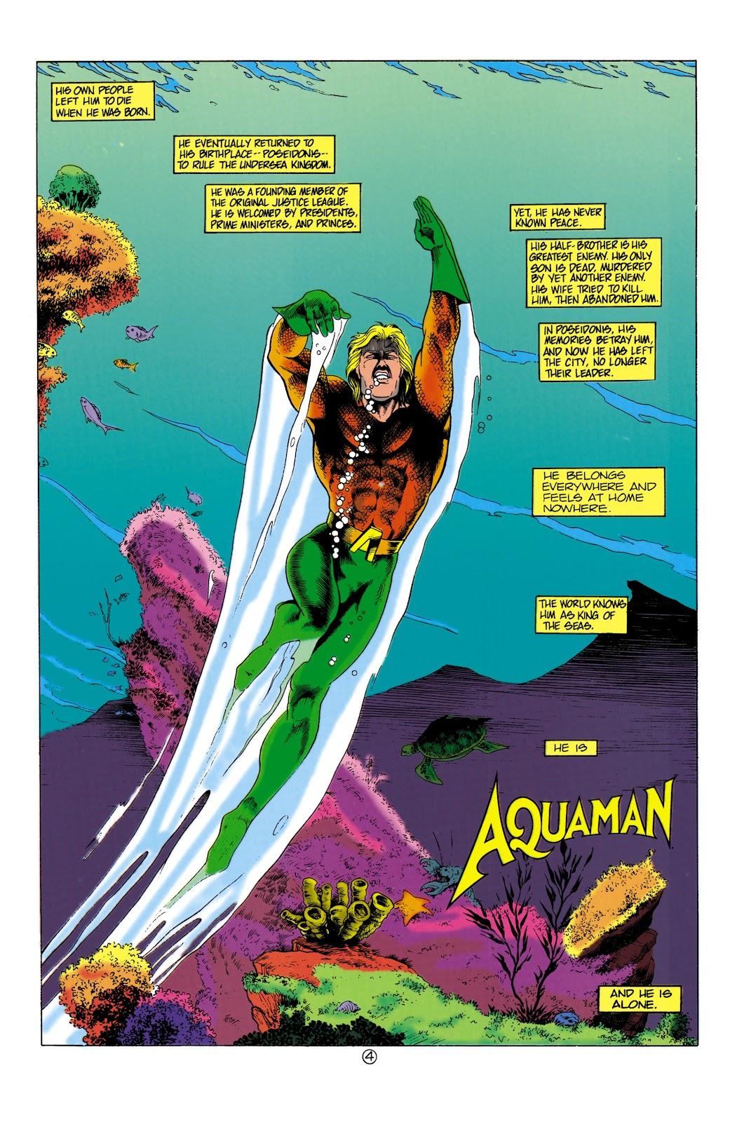 Aquaman (1991) Issue #1 #1 - English 4