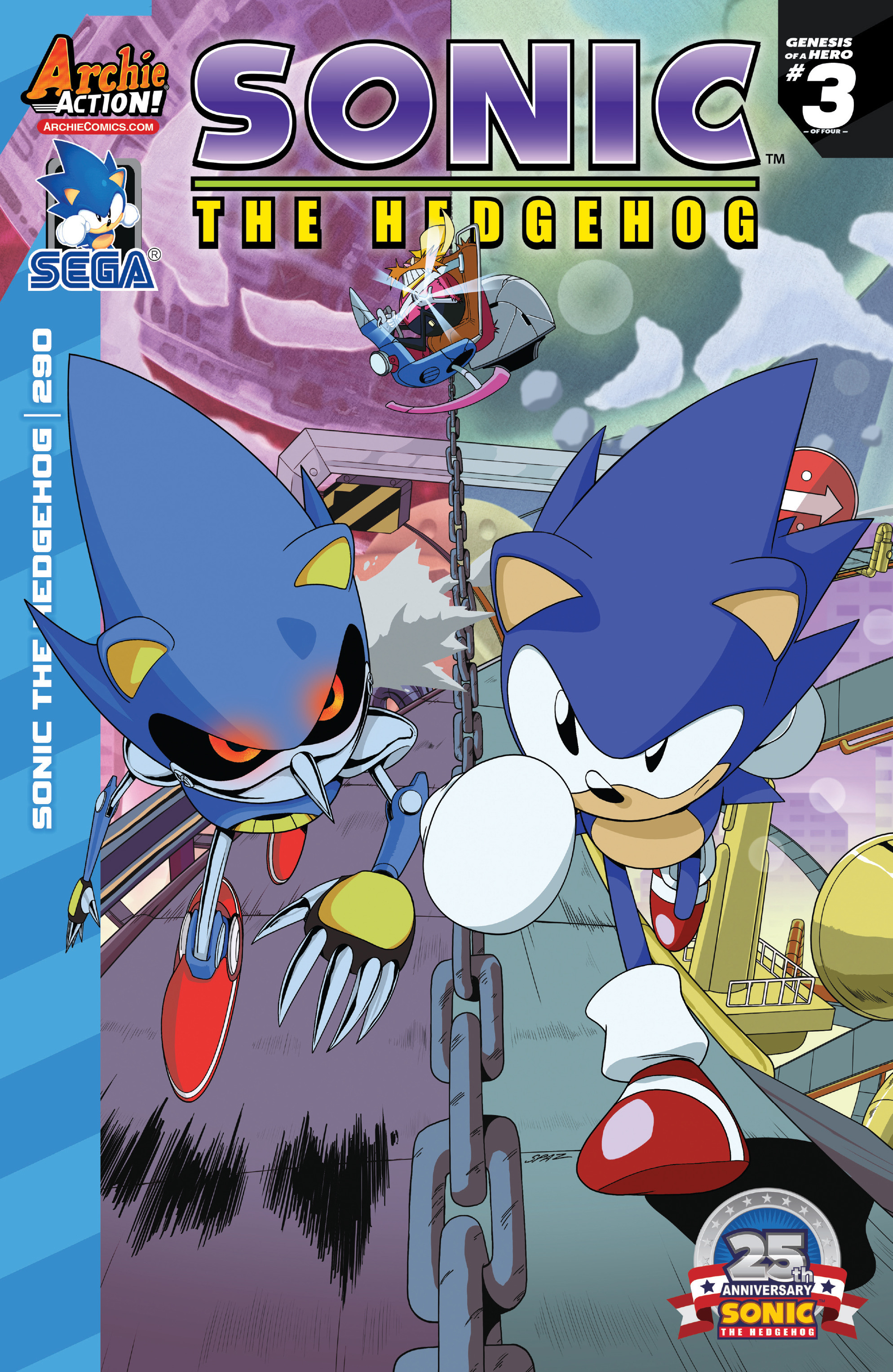Sonic The Hedgehog (1993) 290 Page 1