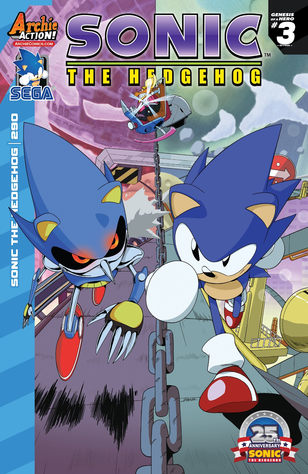 Sonic The Hedgehog (1993) Issue #290 #290 - English 1