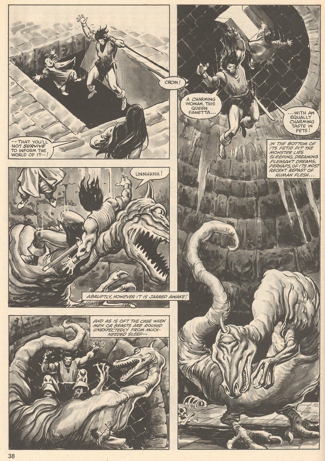 The Savage Sword Of Conan Issue #76 #77 - English 38