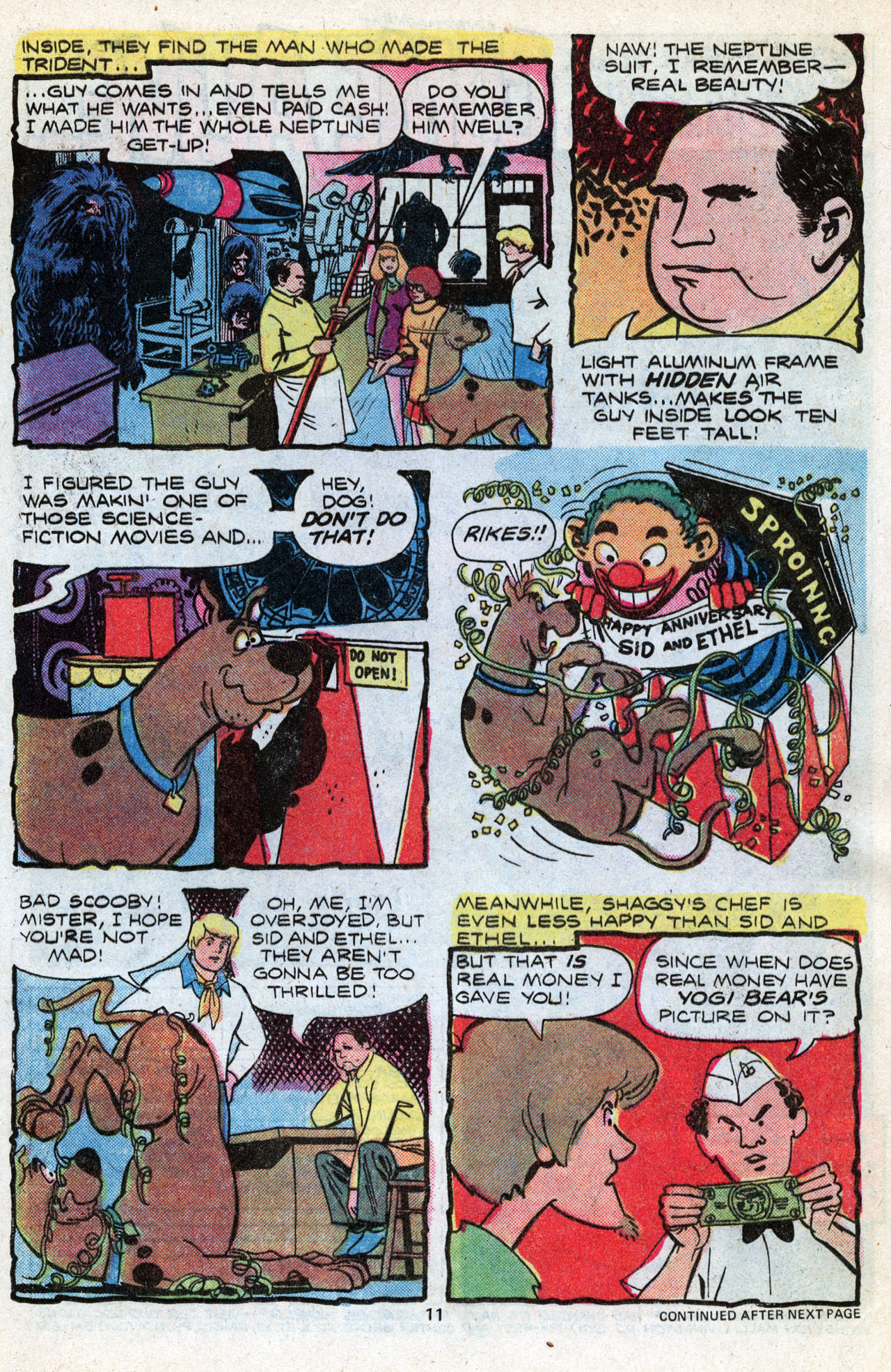 Read online Scooby-Doo (1977) comic -  Issue #3 - 13