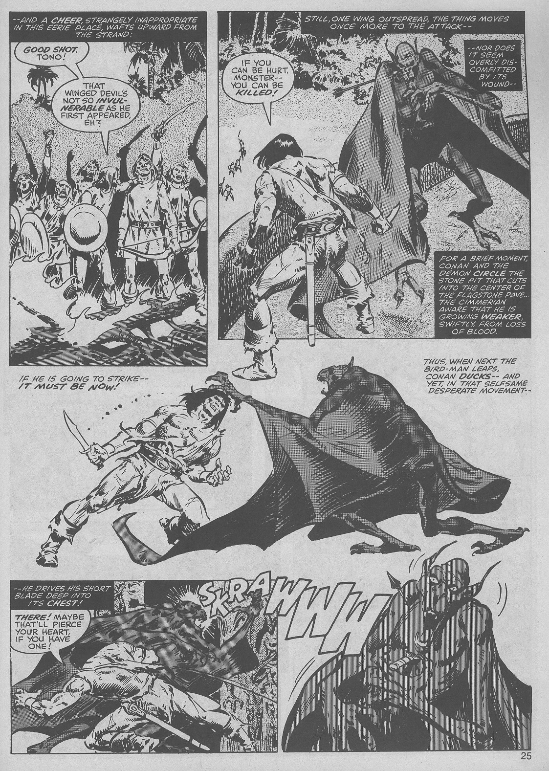 The Savage Sword Of Conan Issue #45 #46 - English 25