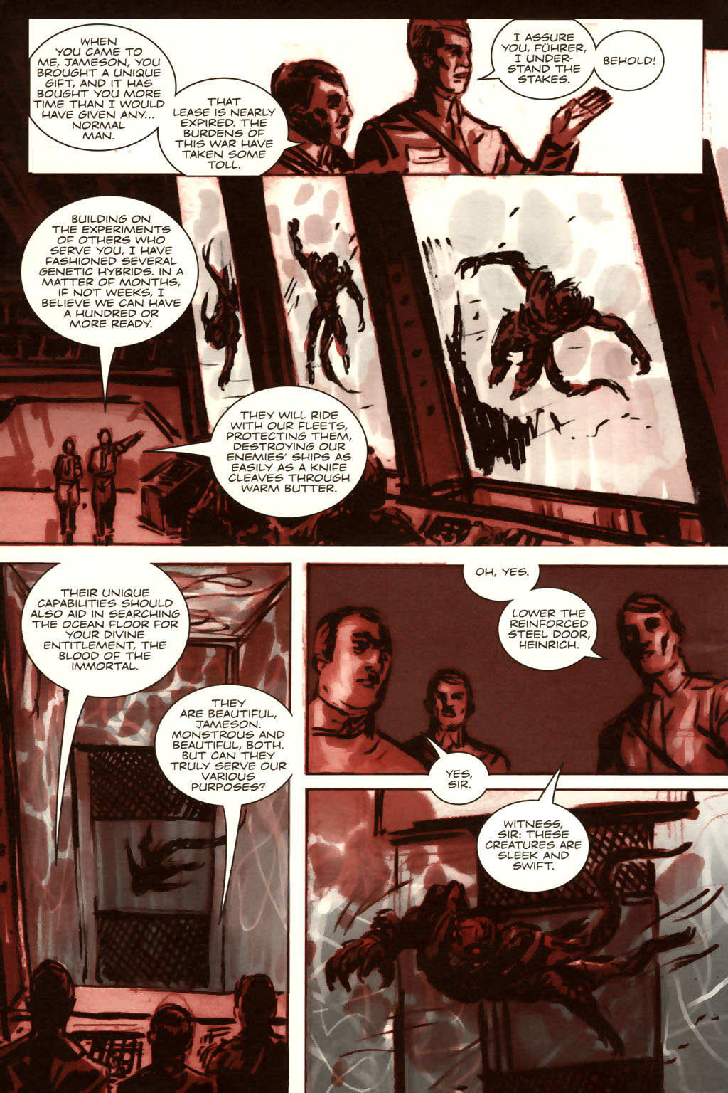 Read online Sea of Red comic -  Issue #9 - 5