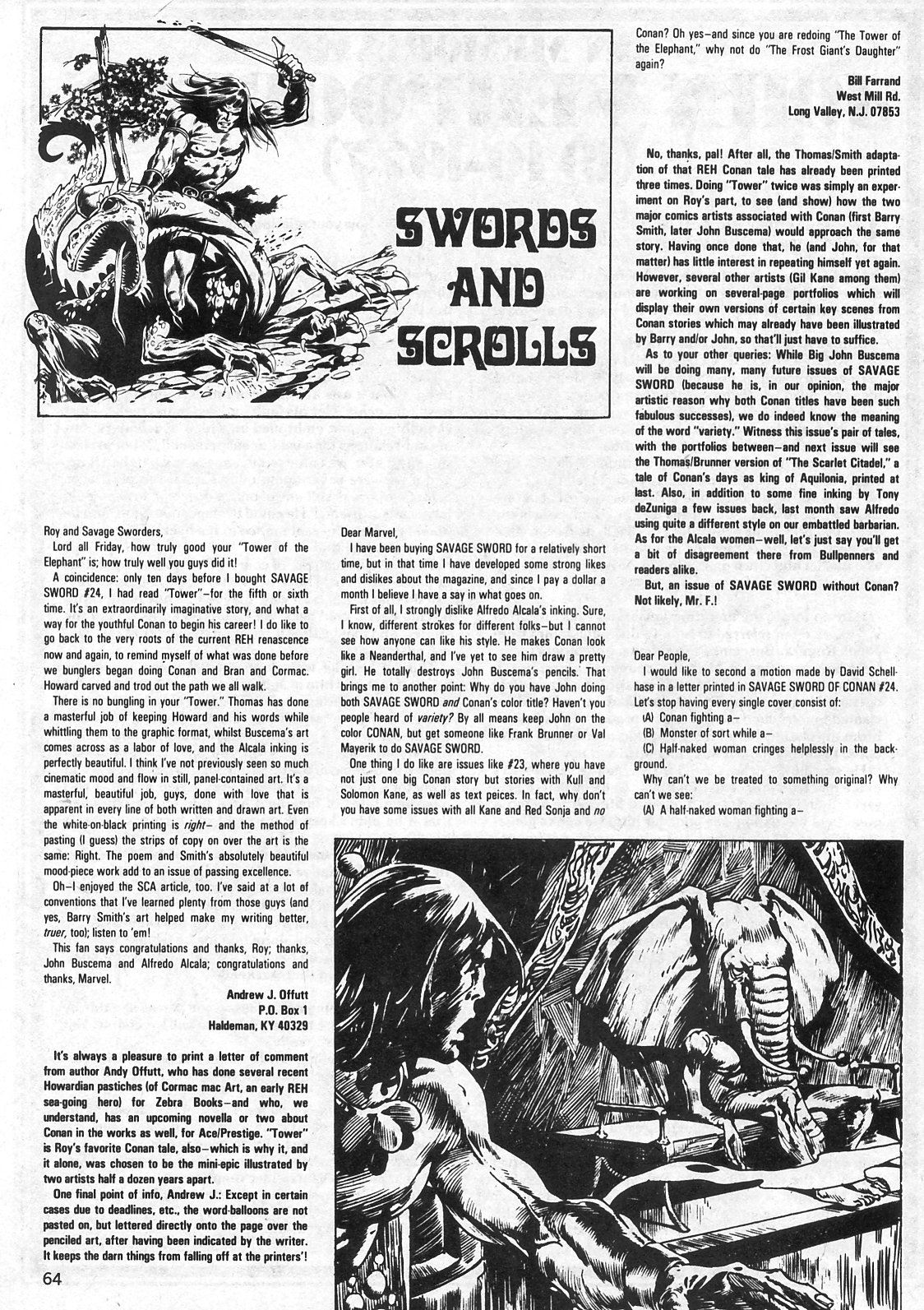 The Savage Sword Of Conan Issue #29 #30 - English 64
