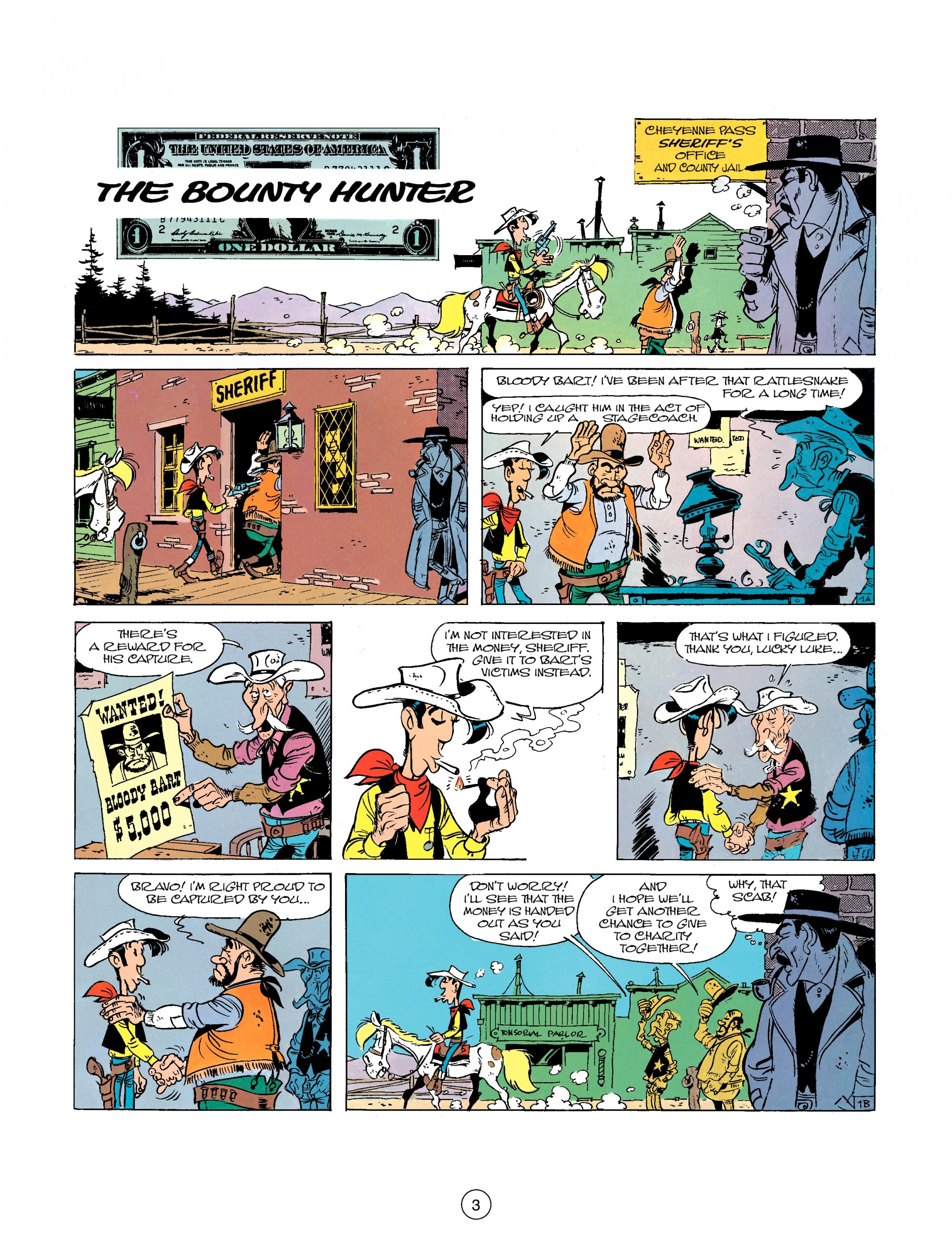 A Lucky Luke Adventure 26 Page 2