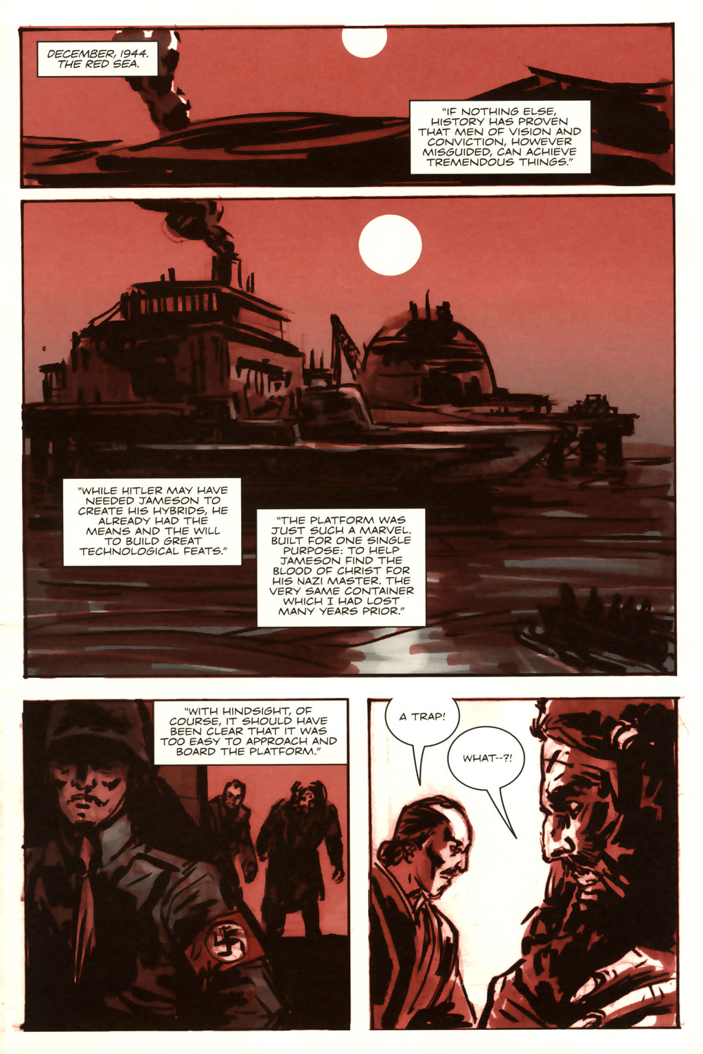 Read online Sea of Red comic -  Issue #9 - 8