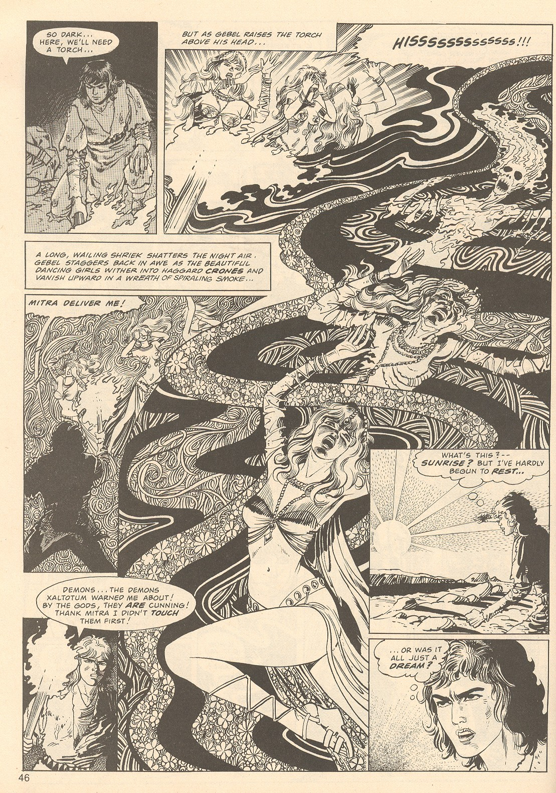 The Savage Sword Of Conan Issue #67 #68 - English 46