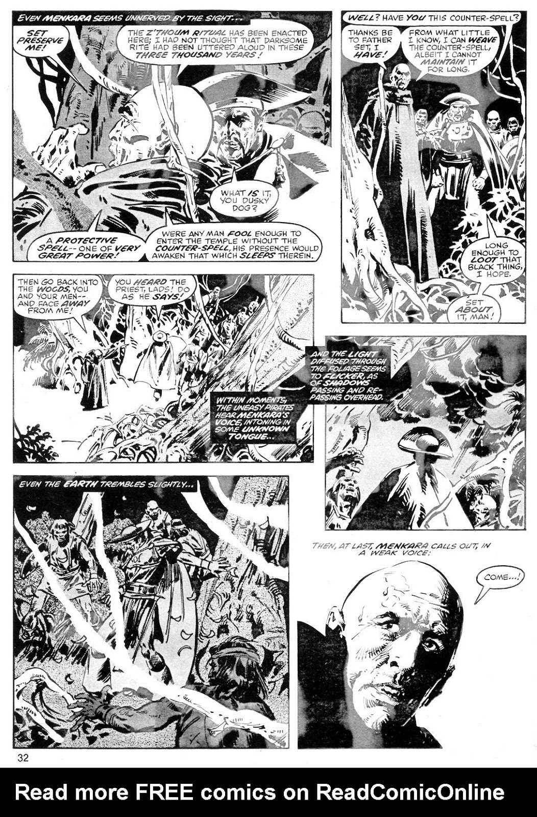 The Savage Sword Of Conan Issue #40 #41 - English 32