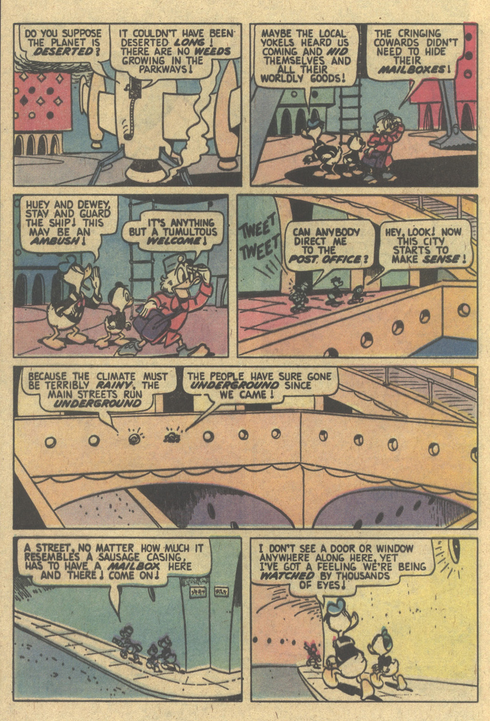 Uncle Scrooge (1953) Issue #154 #154 - English 16
