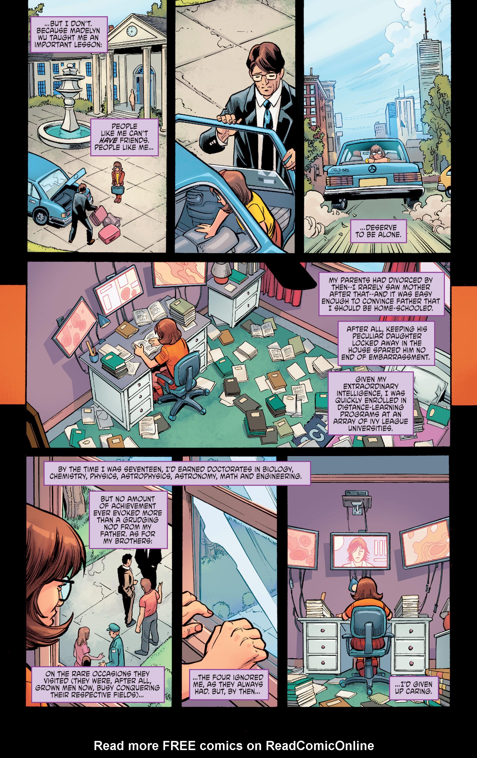 Read online Scooby Apocalypse comic -  Issue #6 - 12