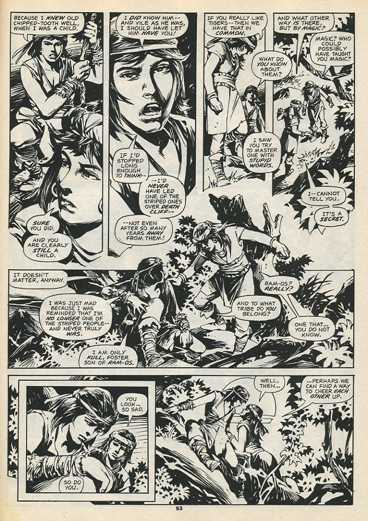 The Savage Sword Of Conan Issue #192 #193 - English 55