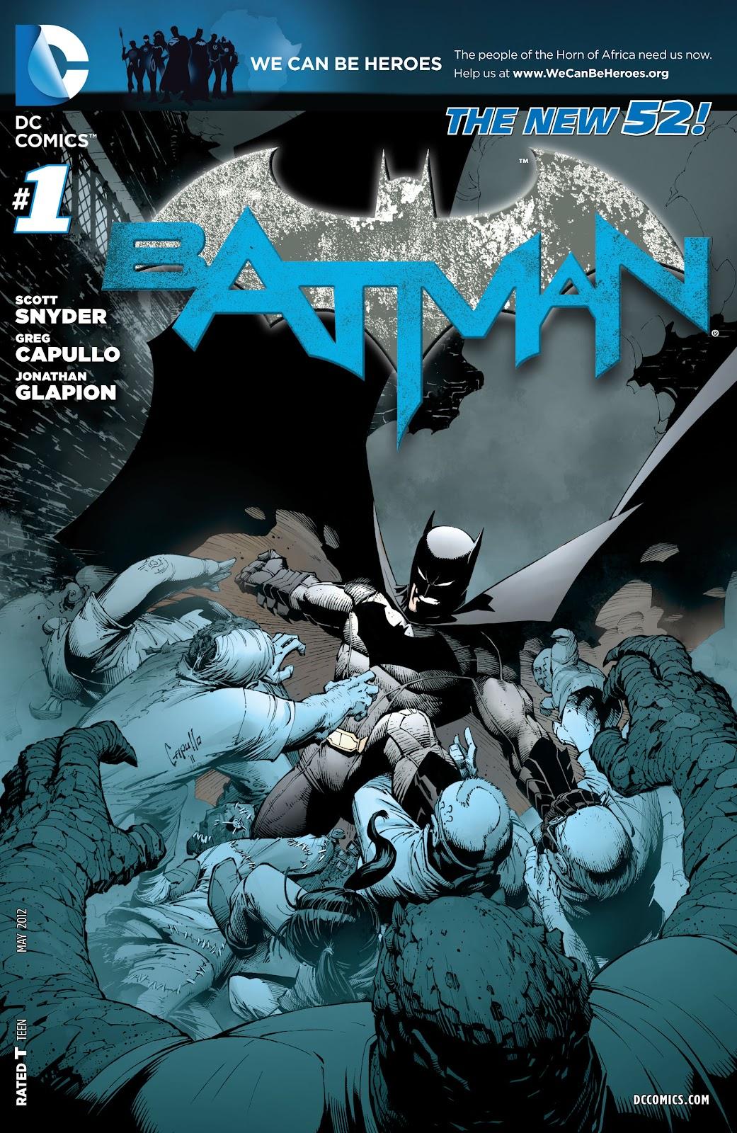 Batman (2011) Issue #1 #16 - English 28