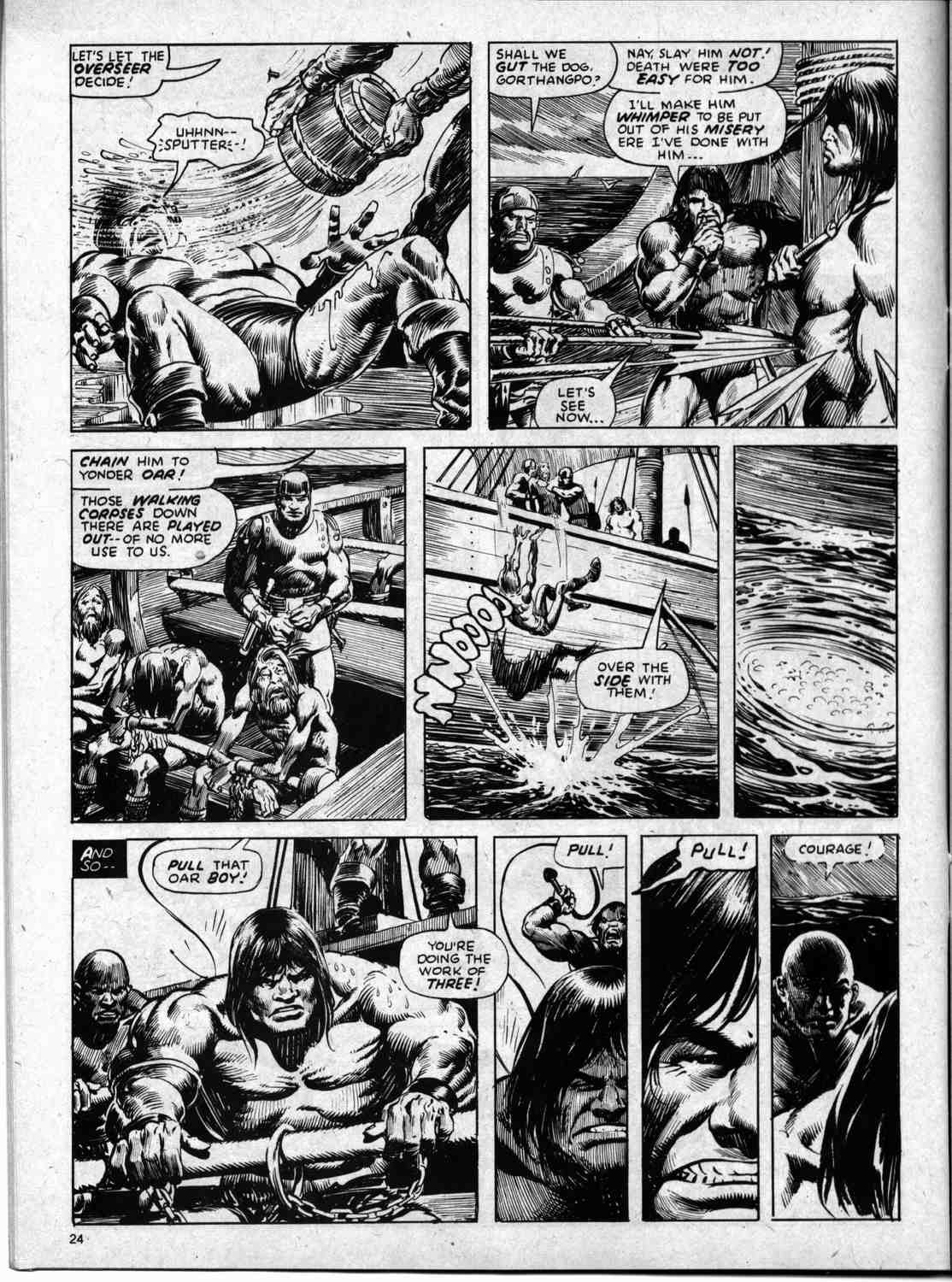 The Savage Sword Of Conan Issue #59 #60 - English 24