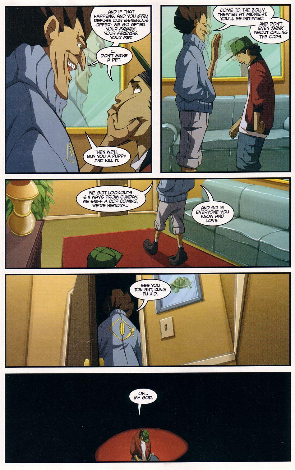 Teenage Mutant Ninja Turtles (2003) chap 7 pic 14