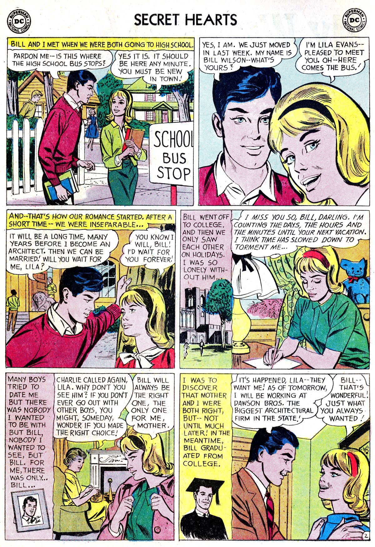 Read online Secret Hearts comic -  Issue #87 - 4