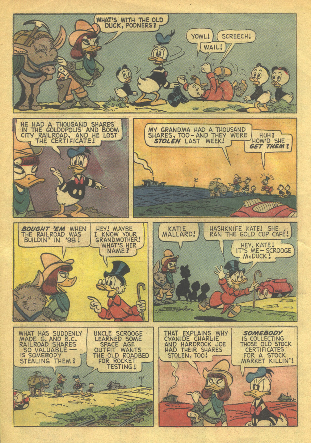 Uncle Scrooge (1953) Issue #56 #56 - English 6