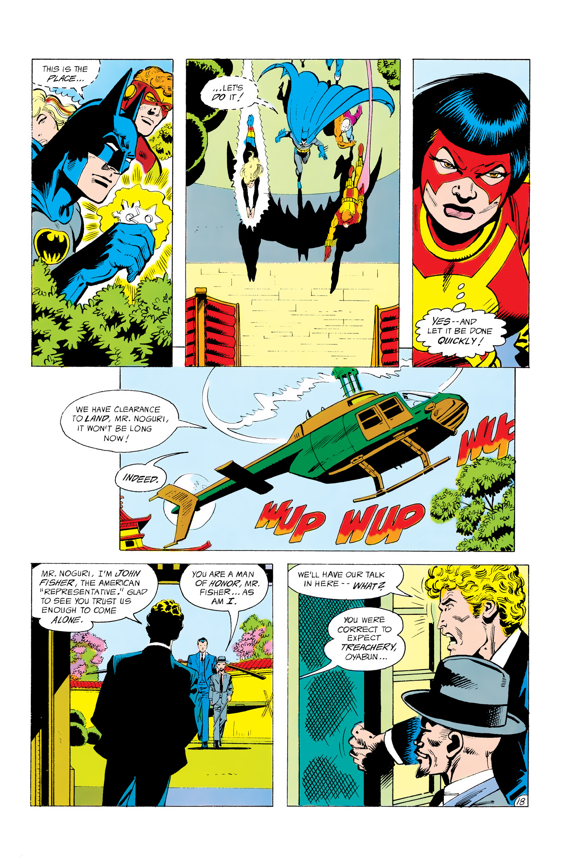 Batman and the Outsiders (1983) 12 Page 18