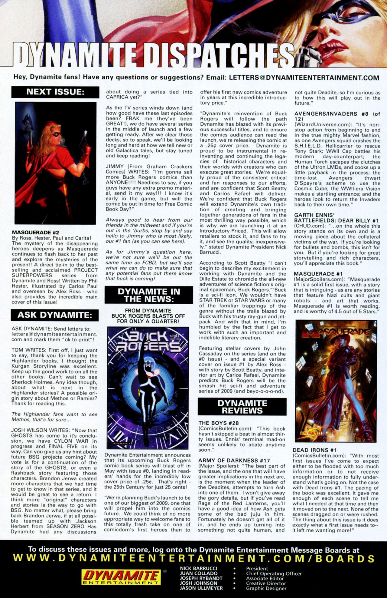 Read online Masquerade comic -  Issue #2 - 32