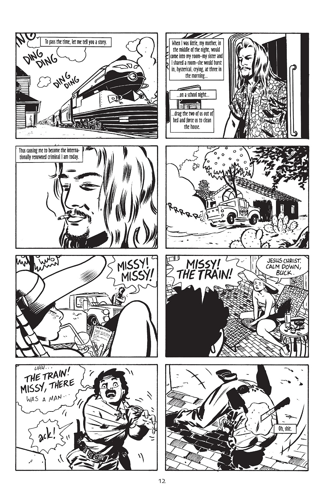 Stray Bullets Issue #10 #10 - English 14