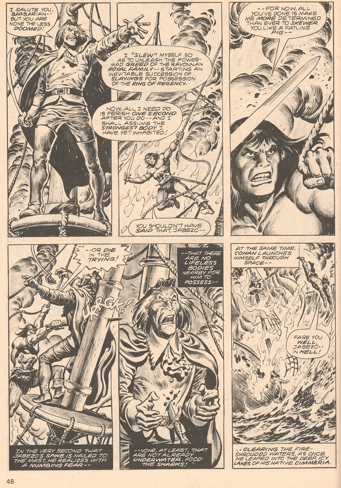 The Savage Sword Of Conan Issue #66 #67 - English 48