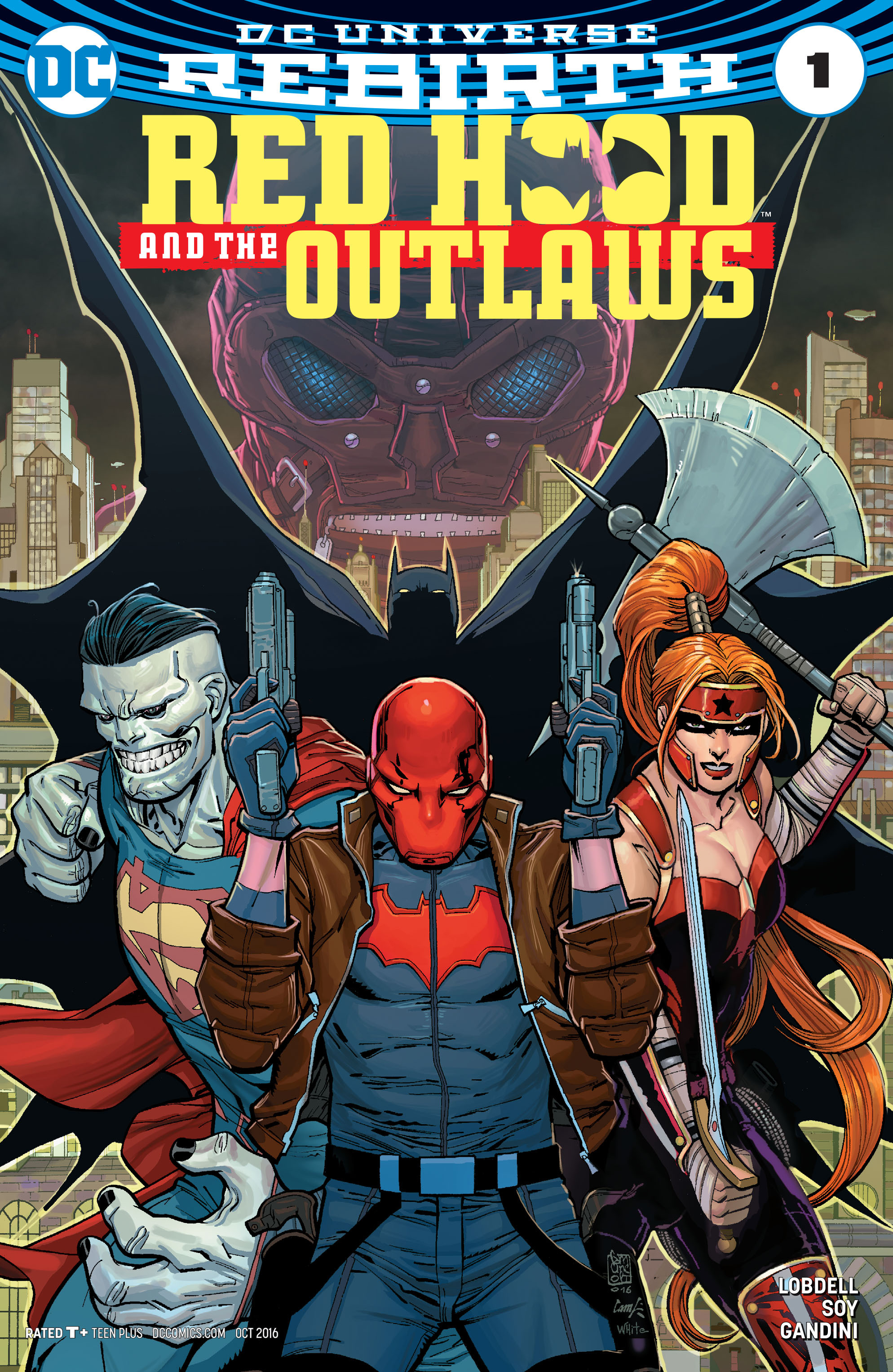 Red Hood and the Outlaws (2016) issue 1 - Page 1