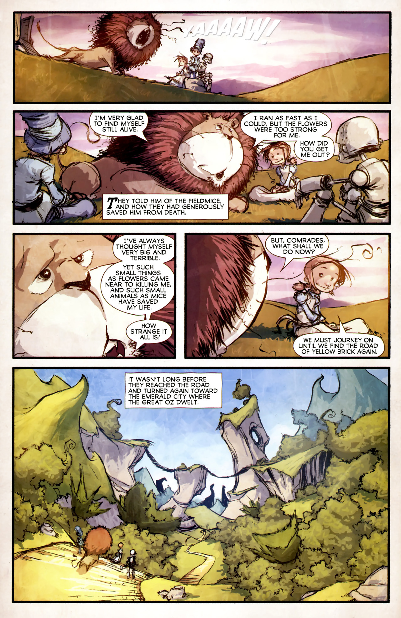 Read online The Wonderful Wizard of Oz comic -  Issue #4 - 3
