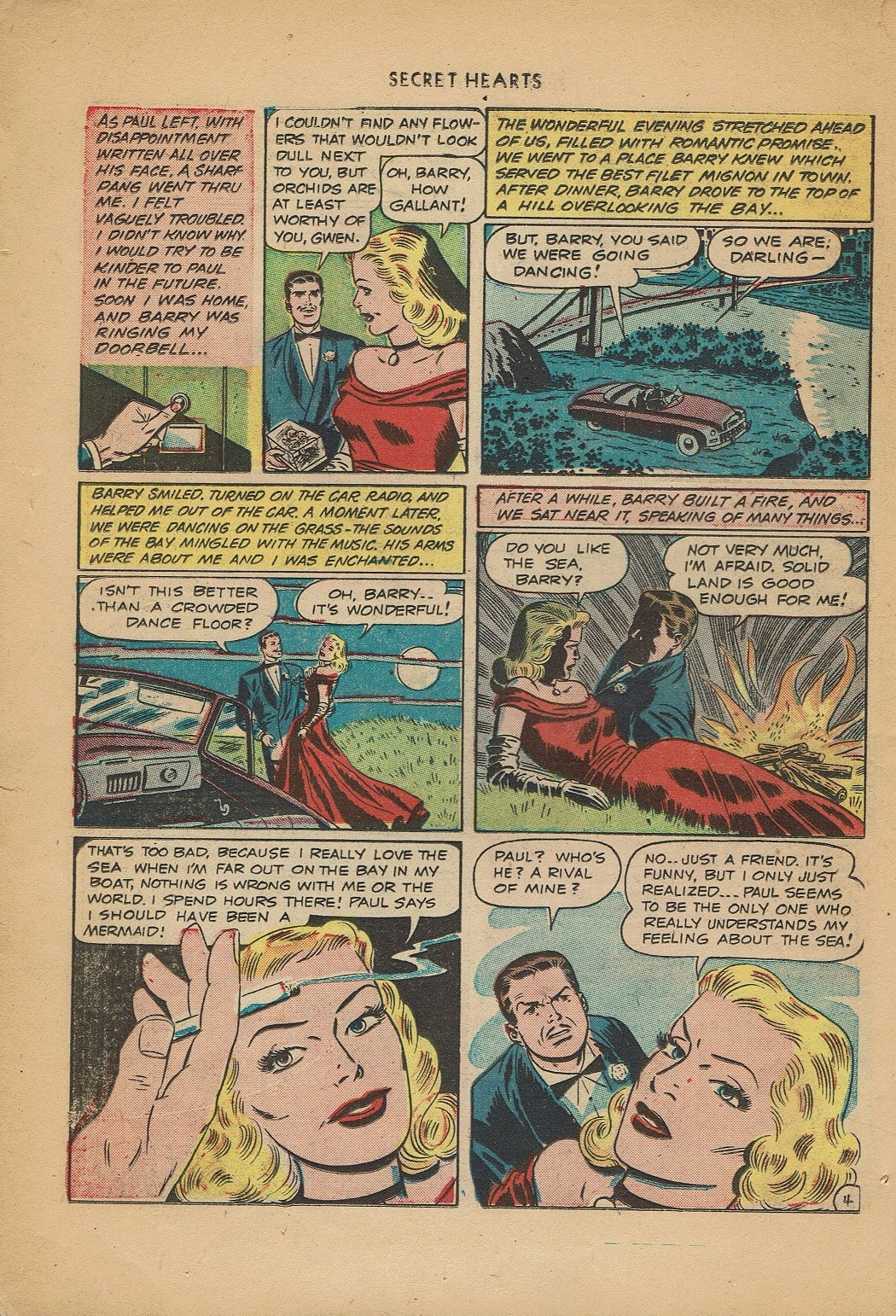 Read online Secret Hearts comic -  Issue #2 - 6