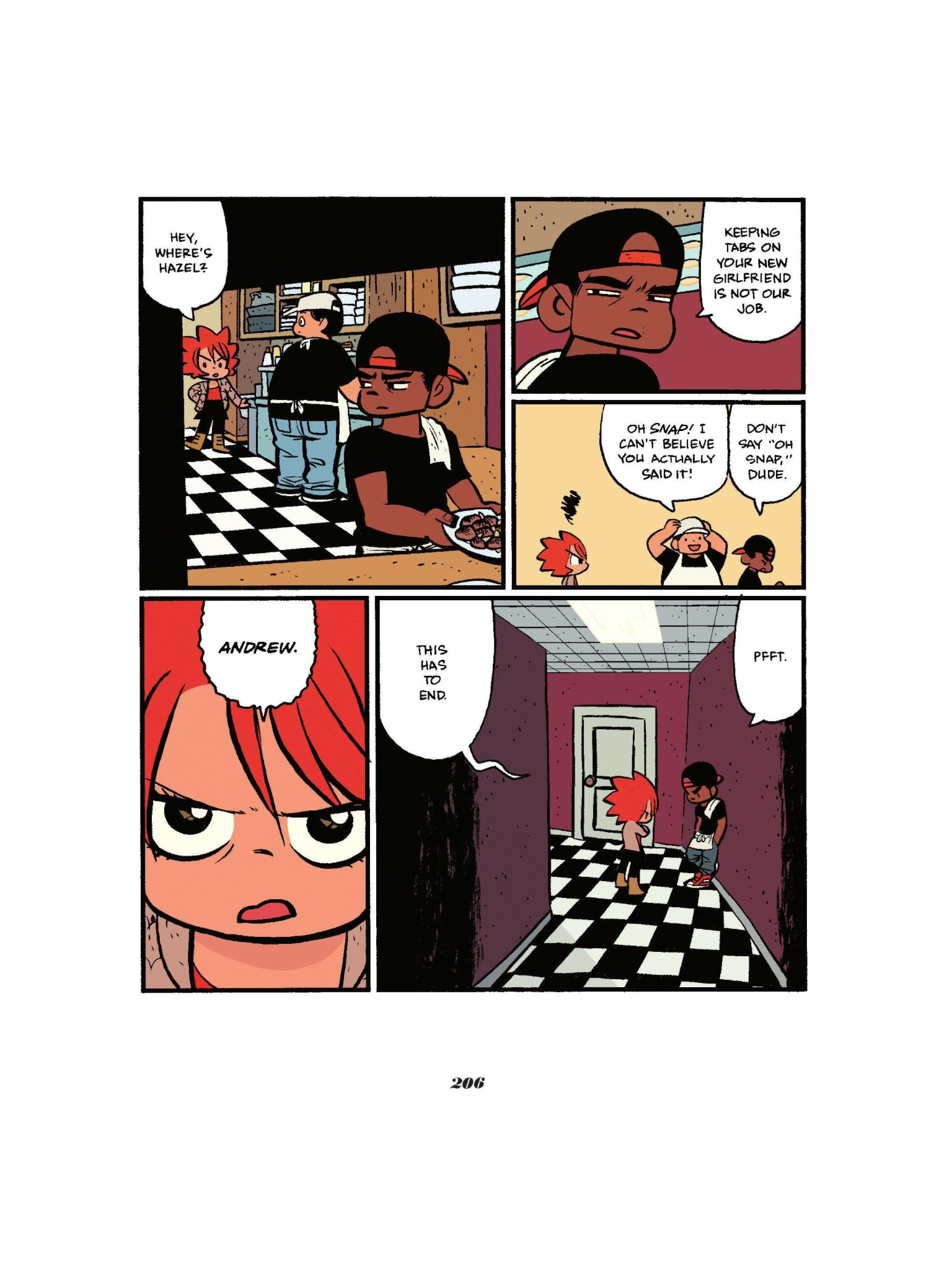 Read online Seconds comic -  Issue # Full - 207