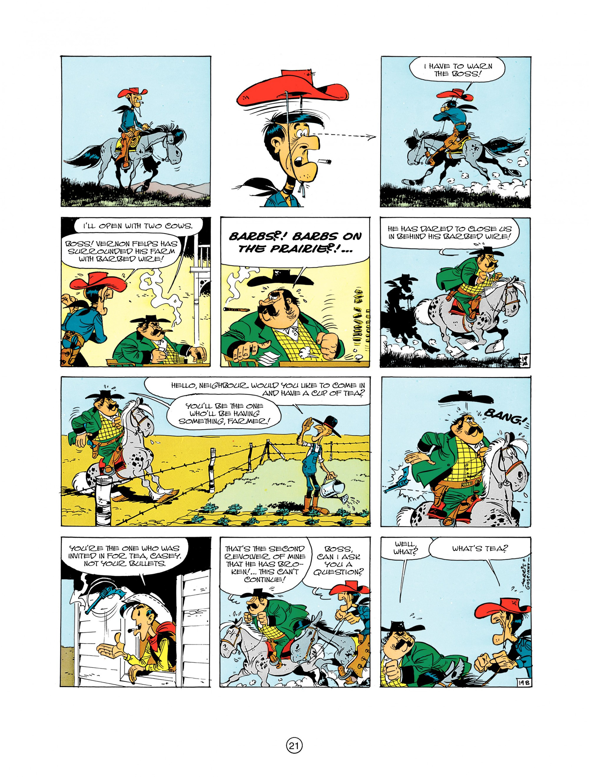 A Lucky Luke Adventure 7 Page 20