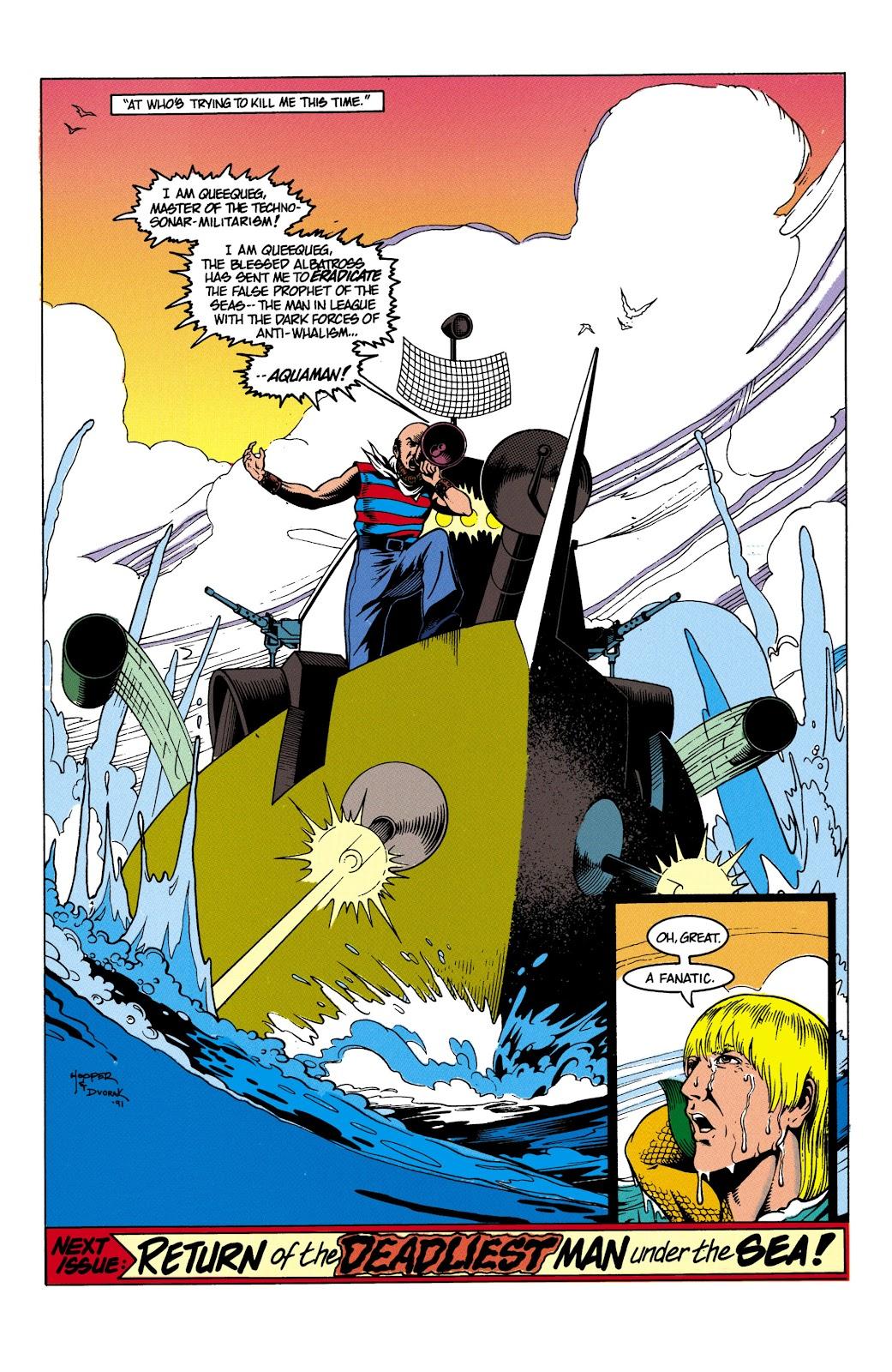 Aquaman (1991) Issue #4 #4 - English 23