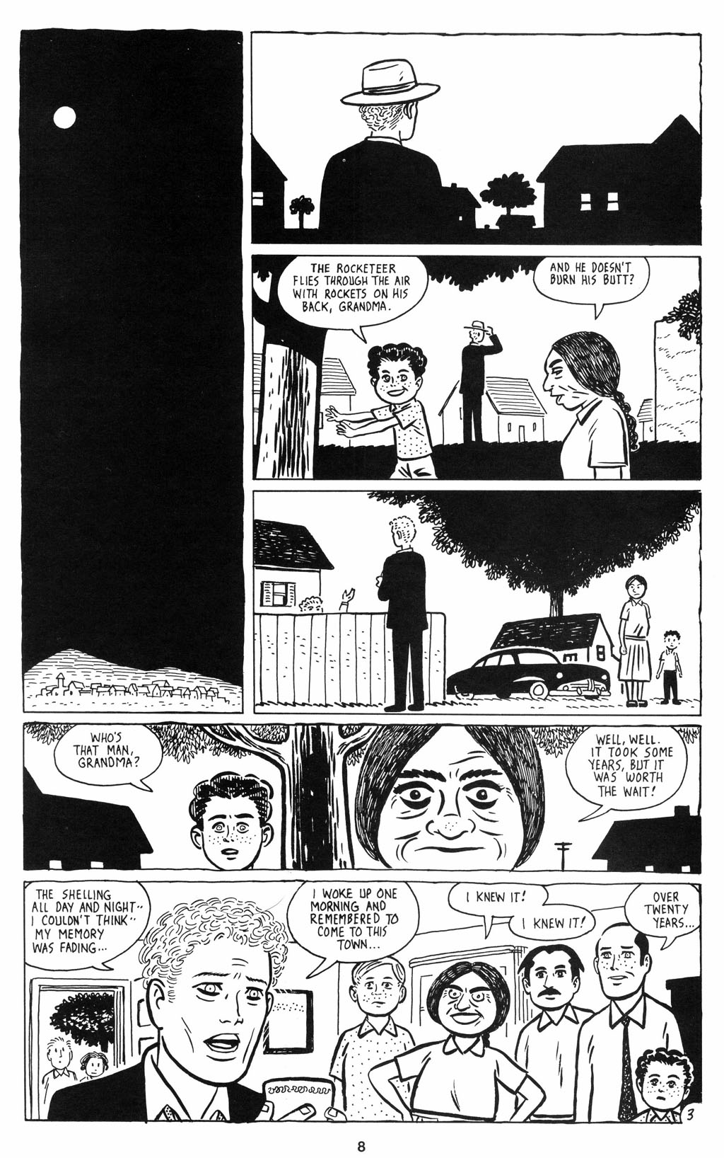 Read online Love and Rockets (2001) comic -  Issue #12 - 9