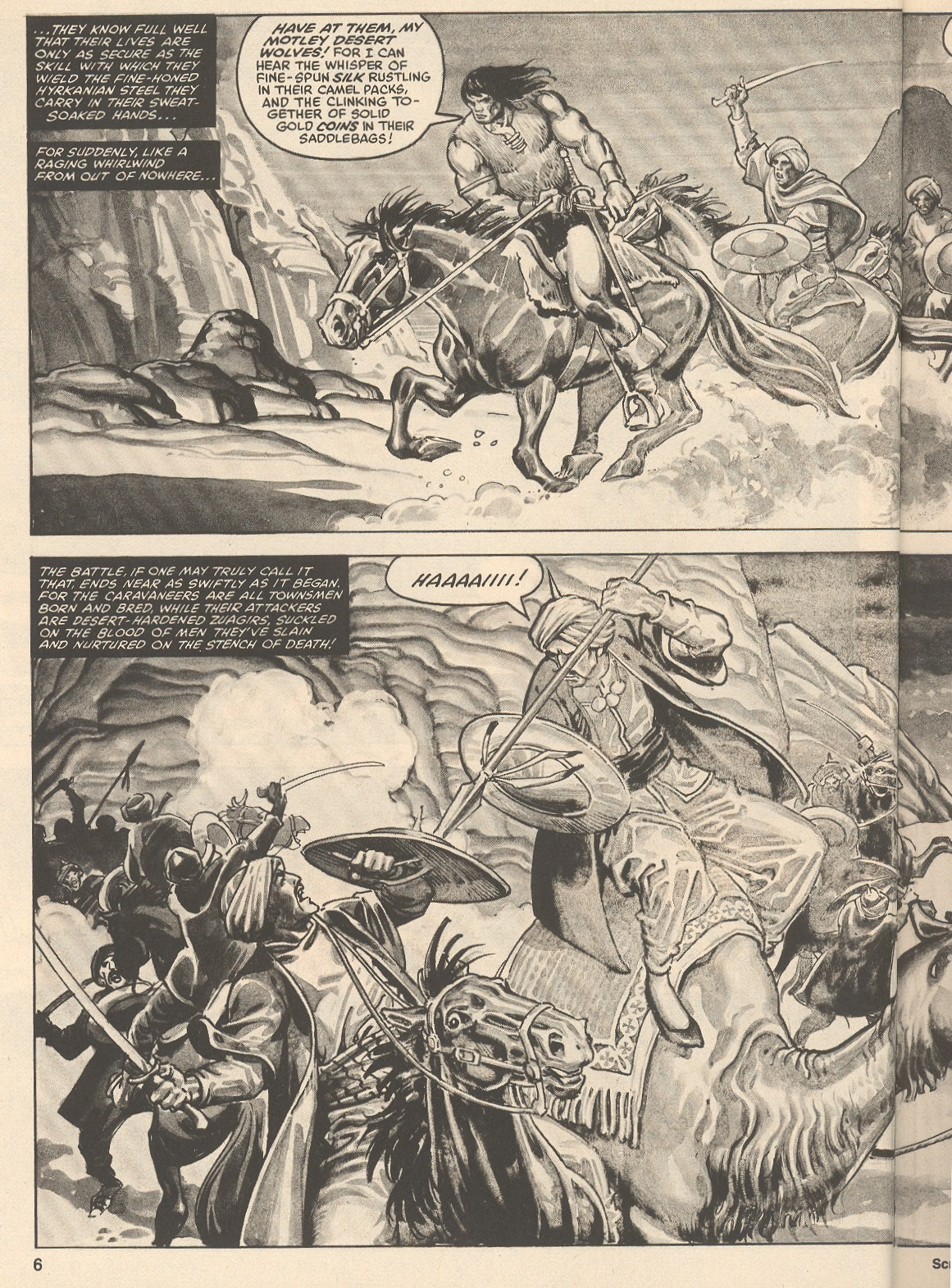The Savage Sword Of Conan Issue #76 #77 - English 6