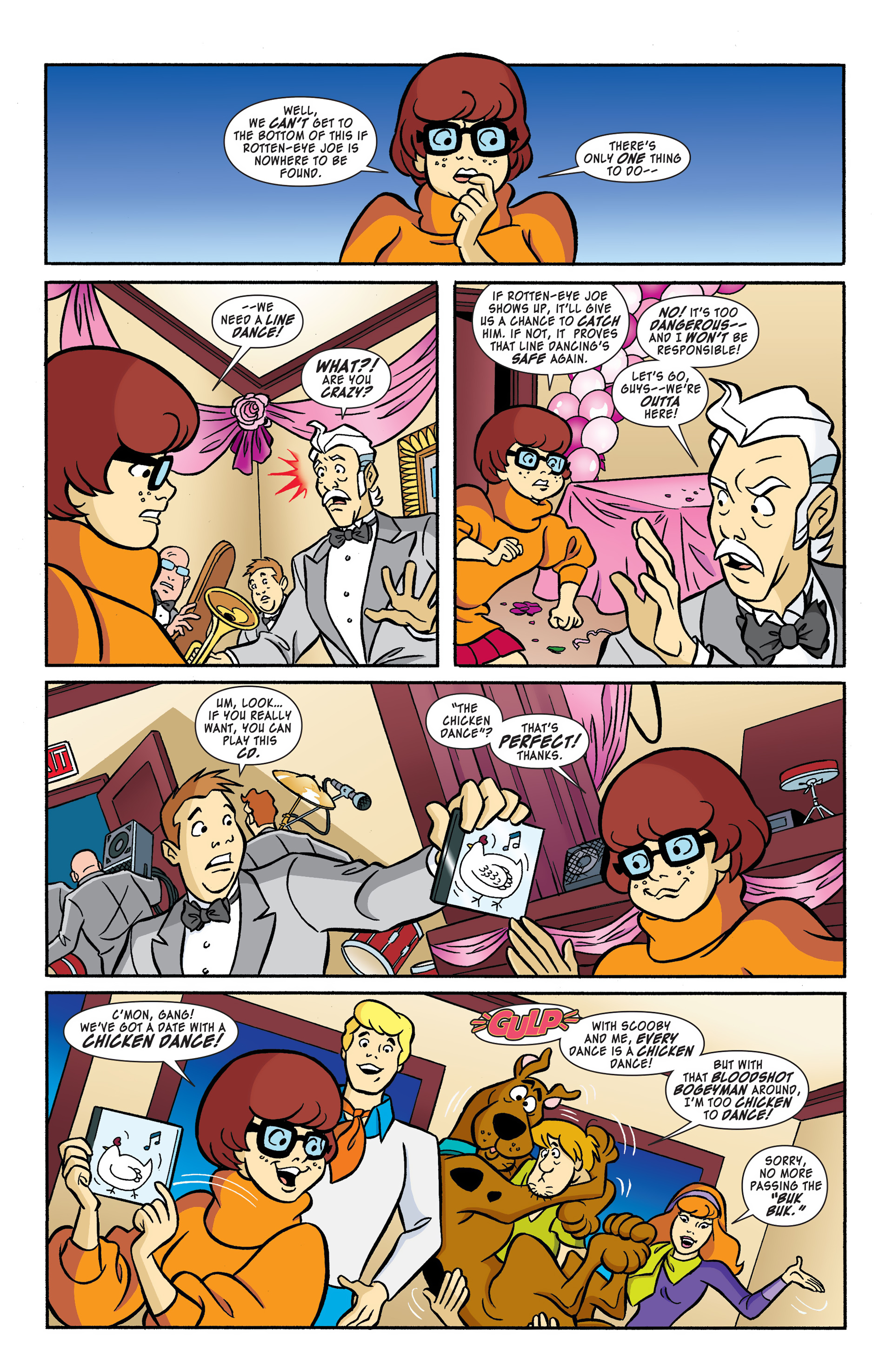 Read online Scooby-Doo: Where Are You? comic -  Issue #51 - 7