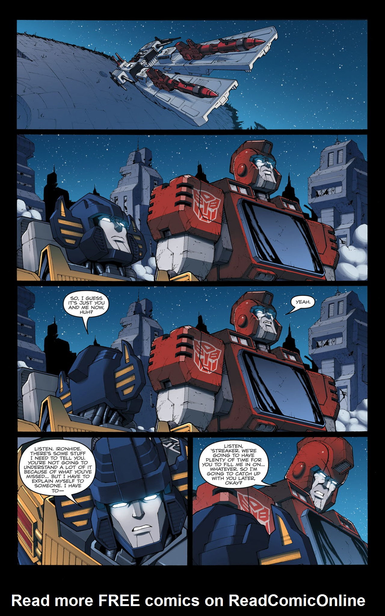 Read online The Transformers: Ironhide comic -  Issue #4 - 24