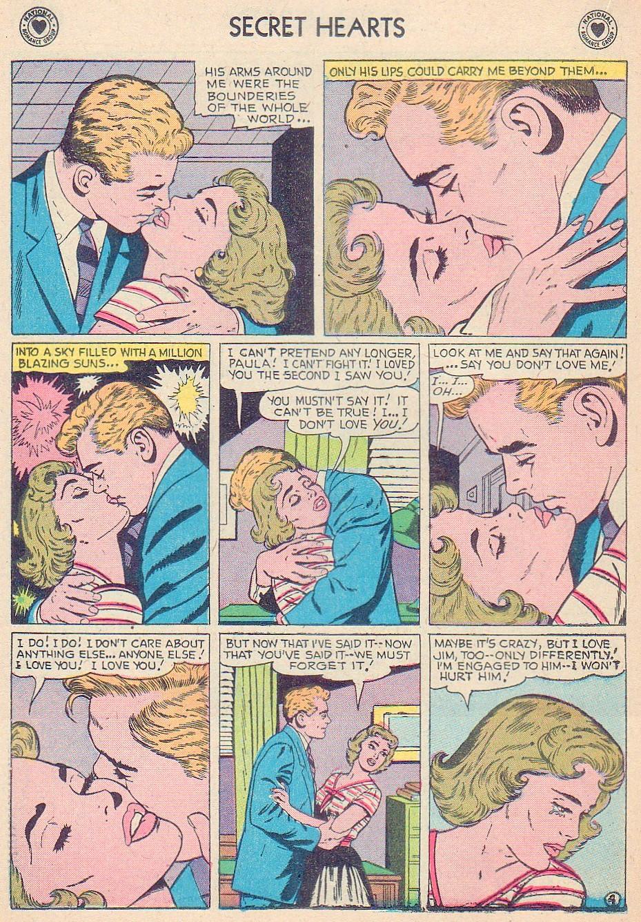 Read online Secret Hearts comic -  Issue #44 - 22