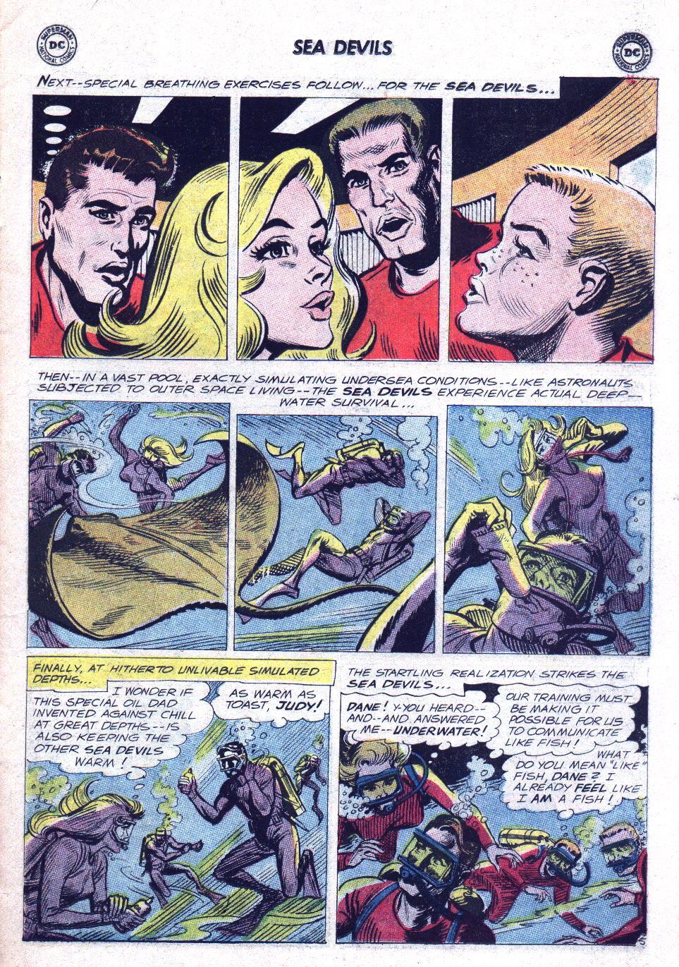 Read online Sea Devils comic -  Issue #15 - 7