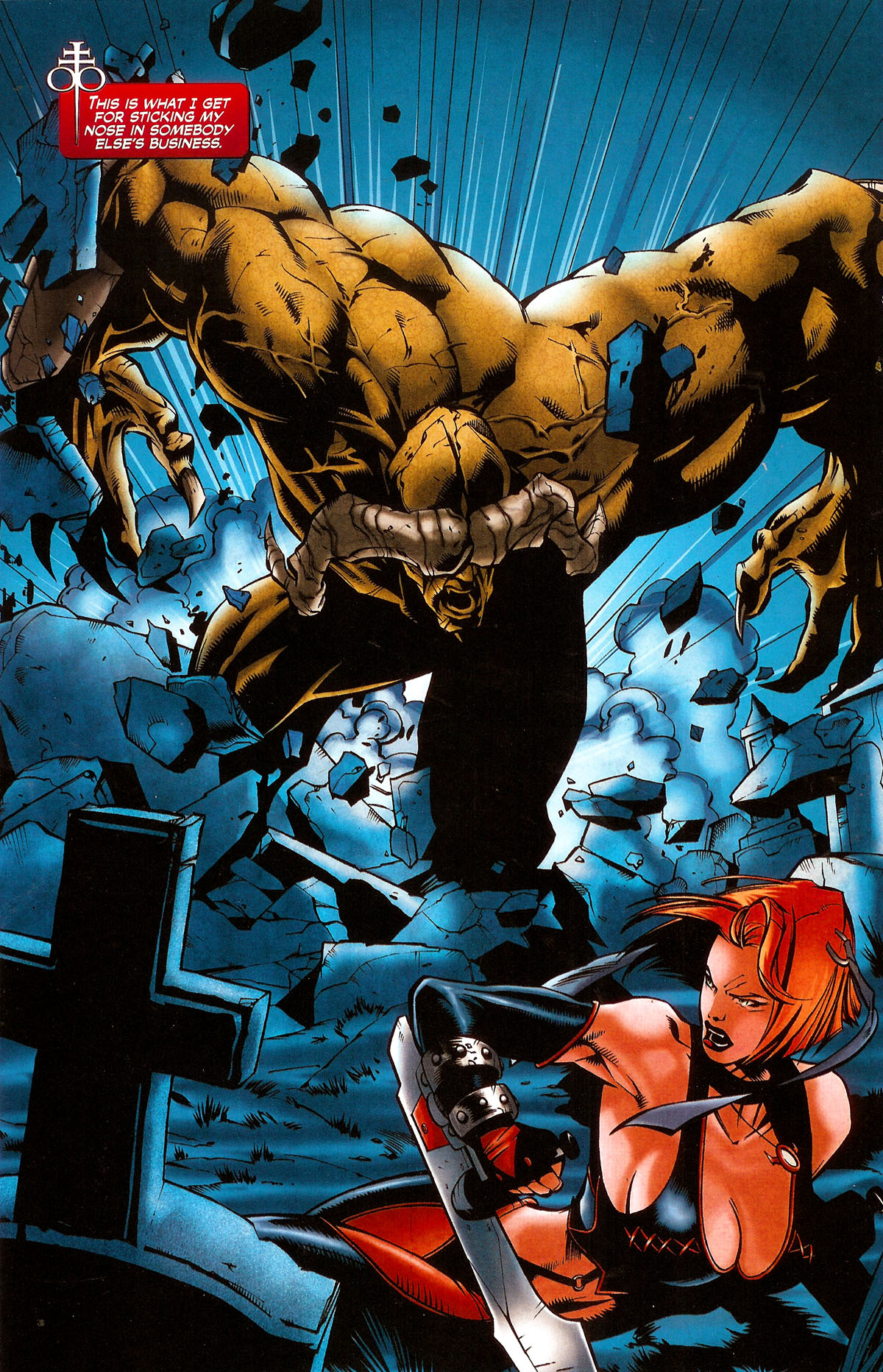 Read online BloodRayne: Dark Soul comic -  Issue # Full - 3