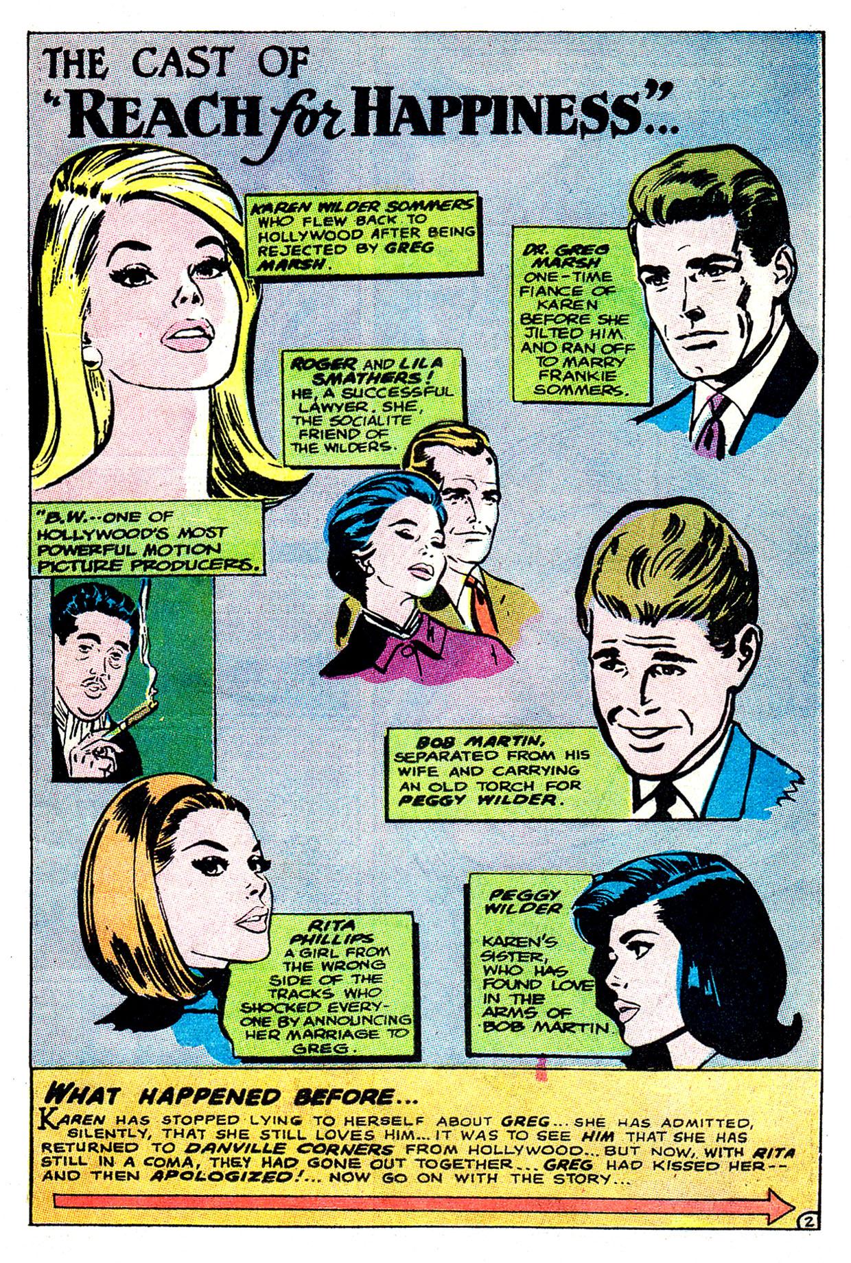 Read online Secret Hearts comic -  Issue #135 - 21
