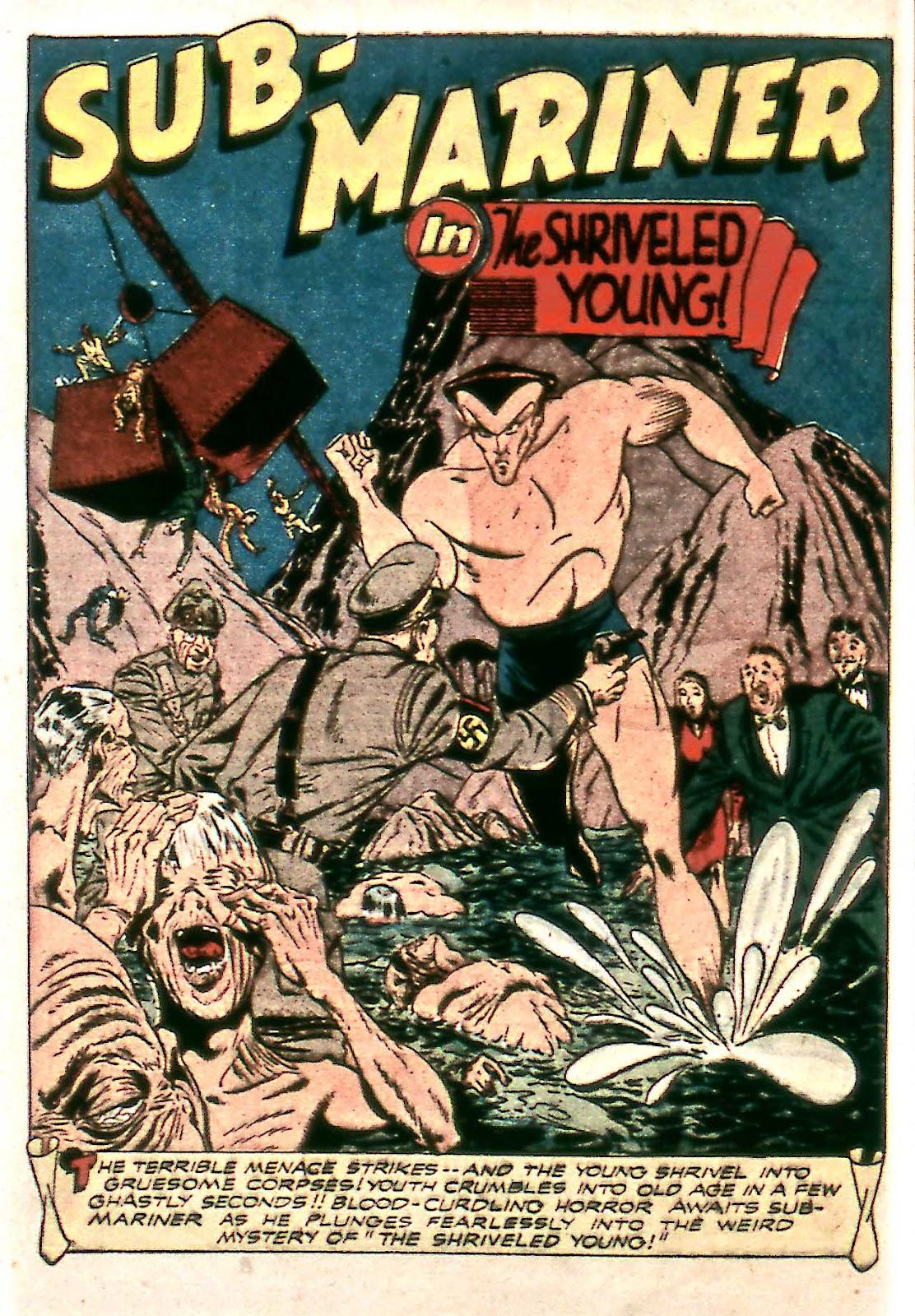 Sub-Mariner Comics Issue #14 #14 - English 16