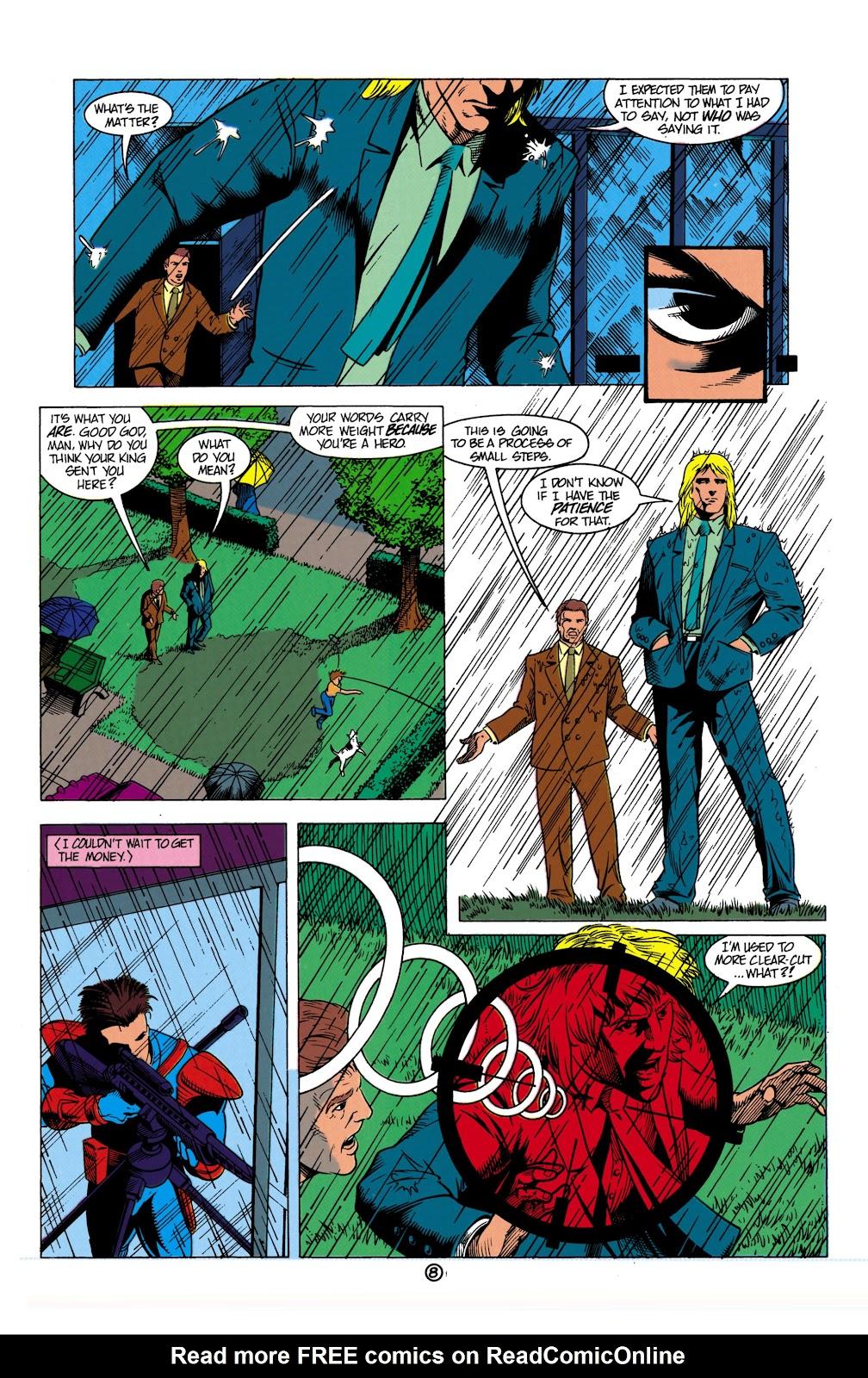 Aquaman (1991) Issue #8 #8 - English 9