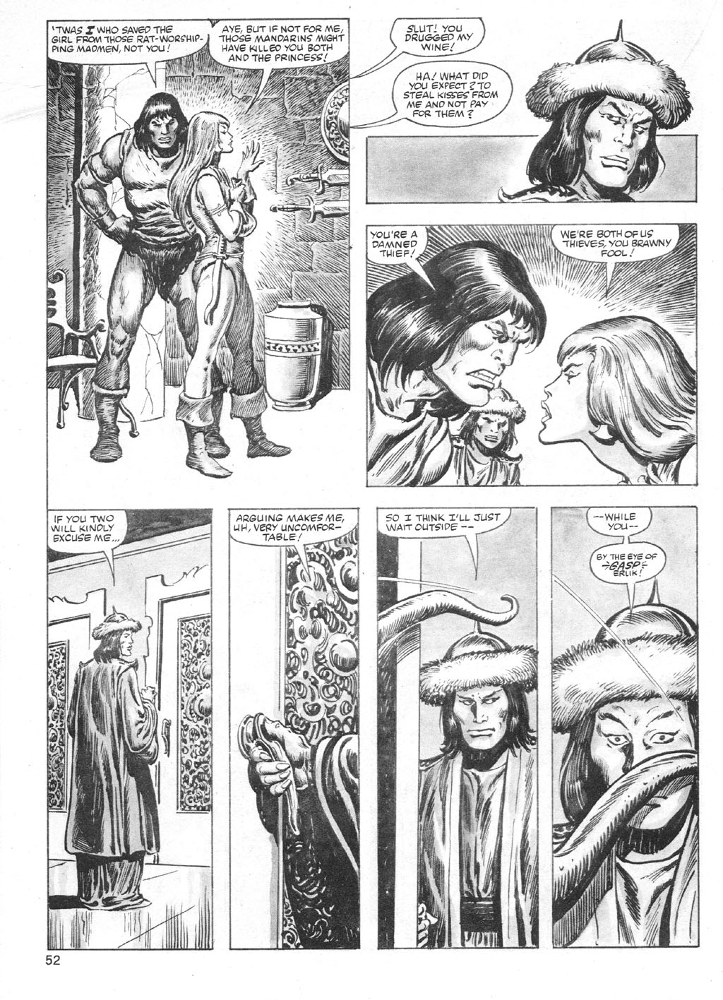 The Savage Sword Of Conan Issue #95 #96 - English 52