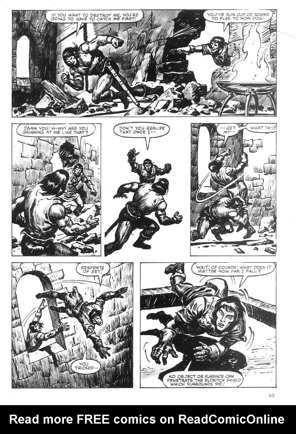 The Savage Sword Of Conan Issue #87 #88 - English 53