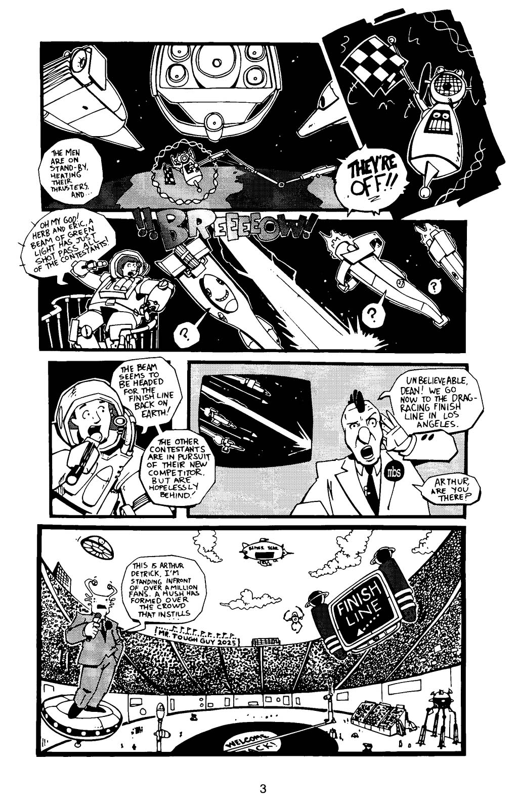 Read online Scud: The Disposable Assassin (1994) comic -  Issue #12 - 5